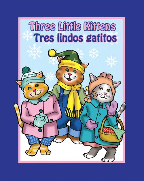 Three Little Kittens Bilingual