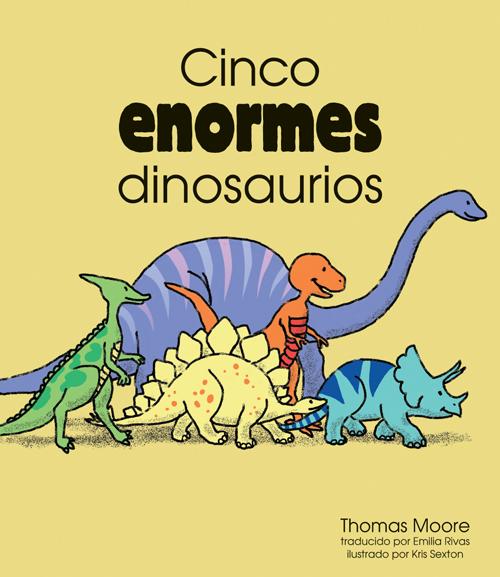 Cinco Enormes Dinosaurios Smal