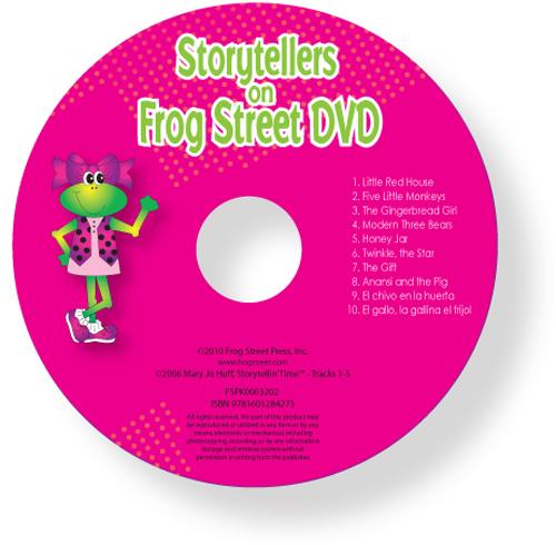 Storytellers On Frog Street Dv