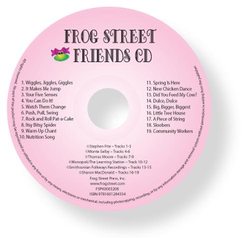 Frog Street Friends Cd