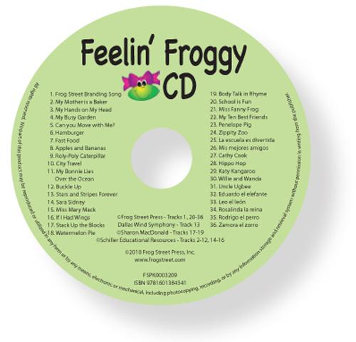 Feelin' Froggy Cd