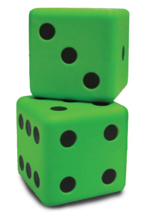 Number Cubes (Set Of 2)